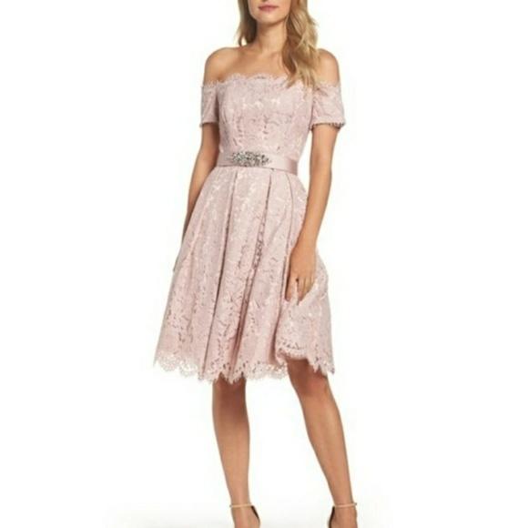 b0aa9fe150dc9 NWT °Eliza J° Embellished Fit   Flare Dress sz. 12
